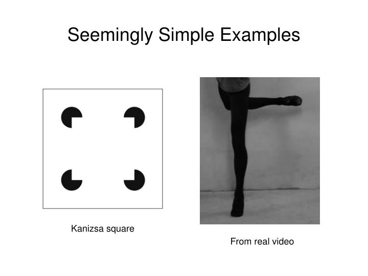 Seemingly Simple Examples