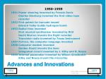advances and innovations6