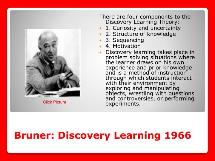 Bruner: Discovery Learning 1966
