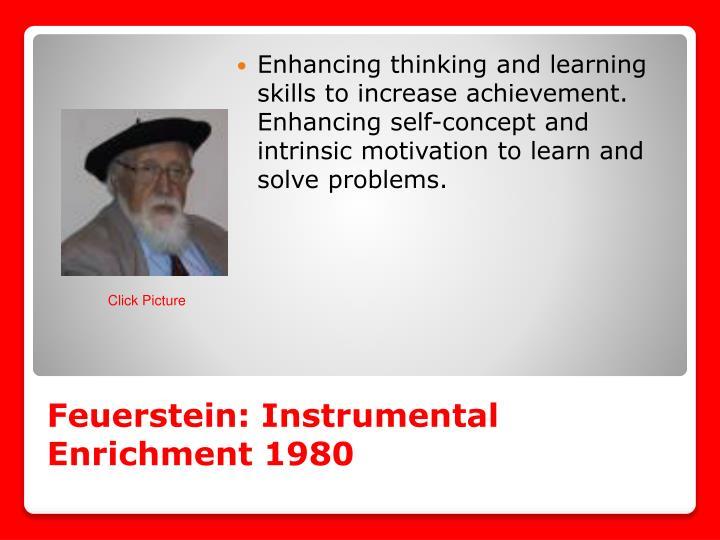 Feuerstein: Instrumental Enrichment 1980