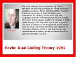 pavio dual coding theory 1991