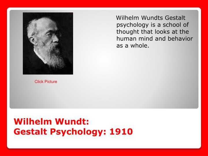 Wilhelm Wundt: