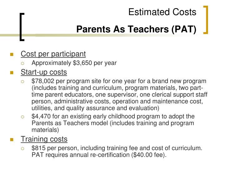 Cost per participant