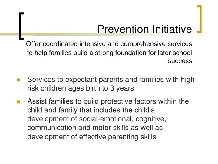 Prevention Initiative
