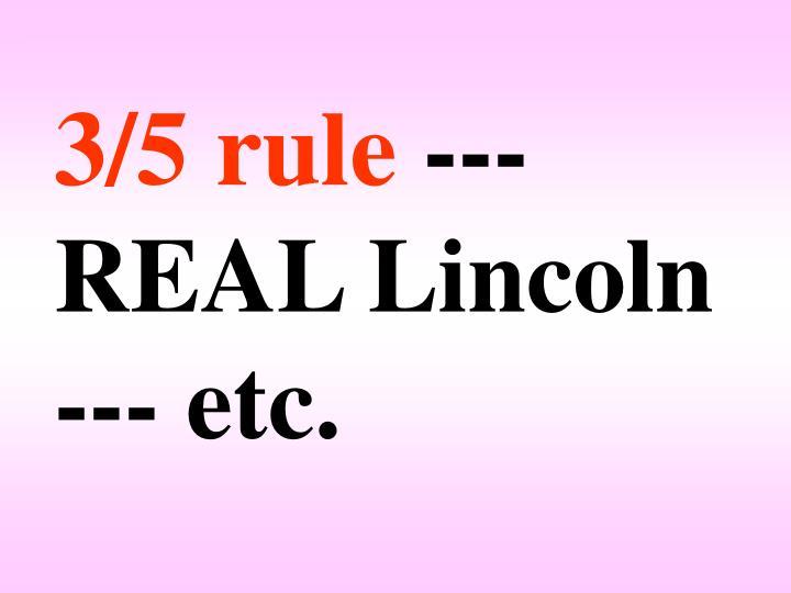 3/5 rule