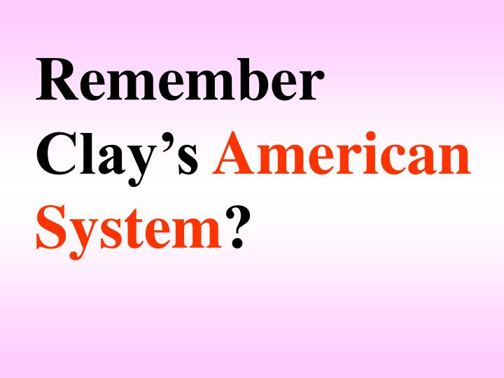 Remember Clay's