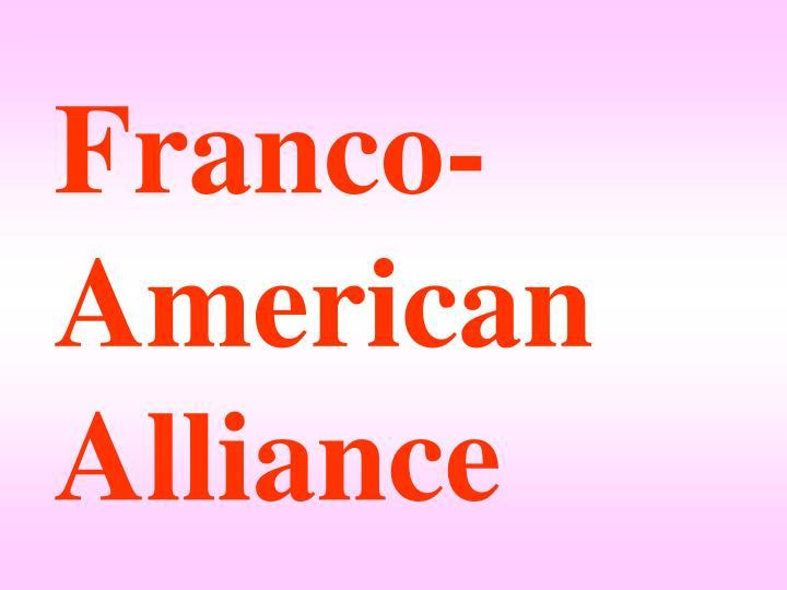 Franco-American Alliance