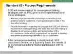 standard 3 process requirements