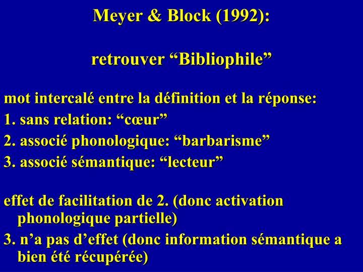 Meyer & Block (1992):