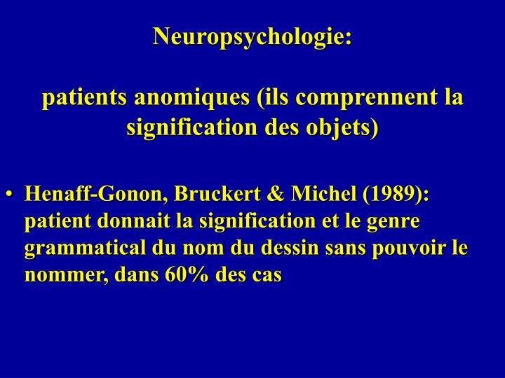 Neuropsychologie: