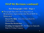 ssap 62 revisions continued2
