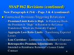 ssap 62 revisions continued5