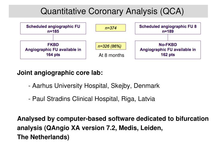 Quantitative Coronary Analysis (QCA)