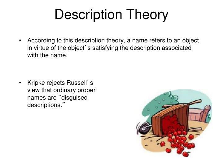Description Theory