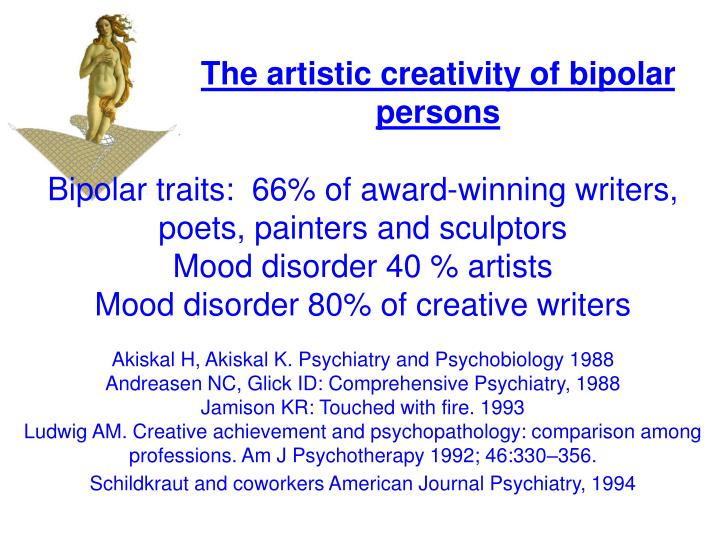 The artistic creativity of bipolar persons