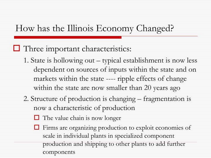 How has the Illinois Economy Changed?