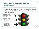 how do we achieve social inclusion
