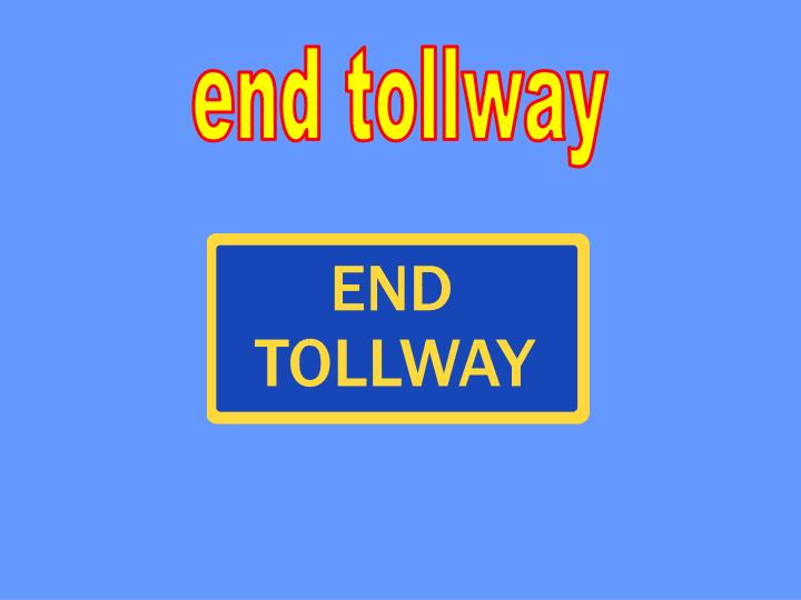 end tollway