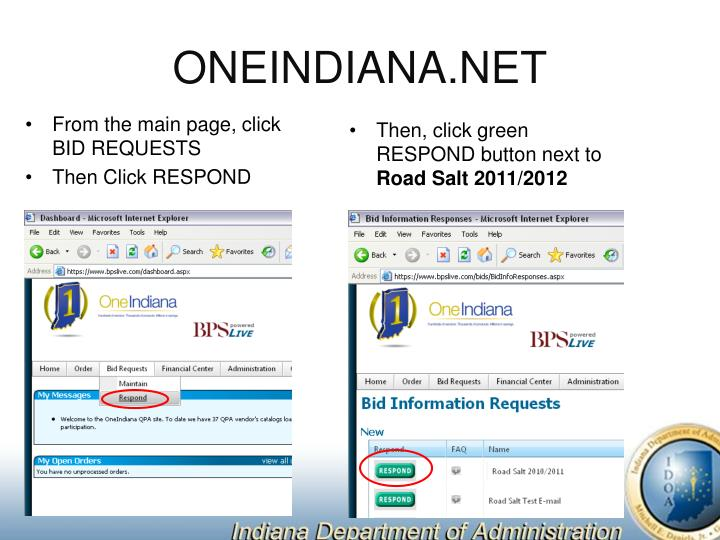 ONEINDIANA.NET