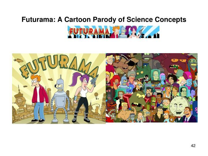 Futurama: A Cartoon Parody of Science Concepts