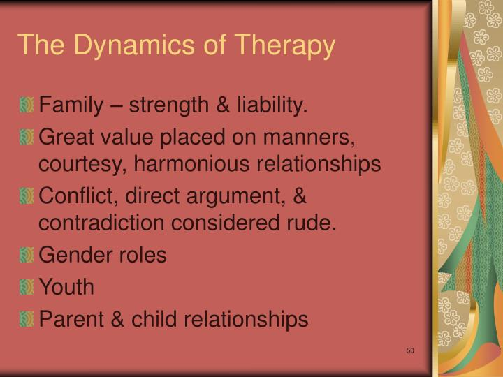 The Dynamics of Therapy
