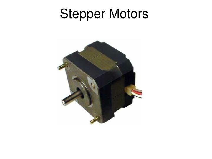 Ppt electric motors powerpoint presentation id 1265620 for Stepper motor vs servo