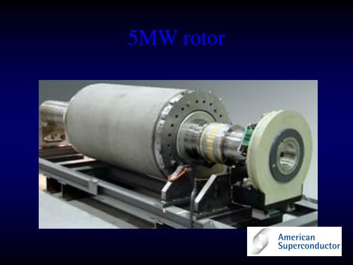5MW rotor