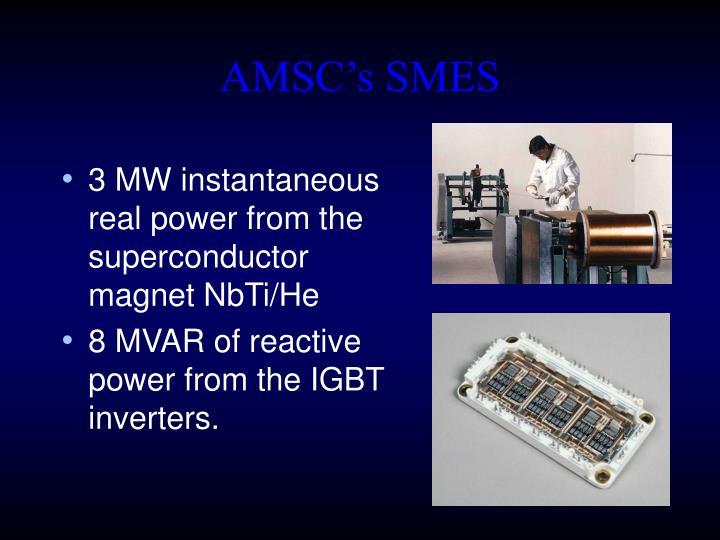 AMSC's SMES