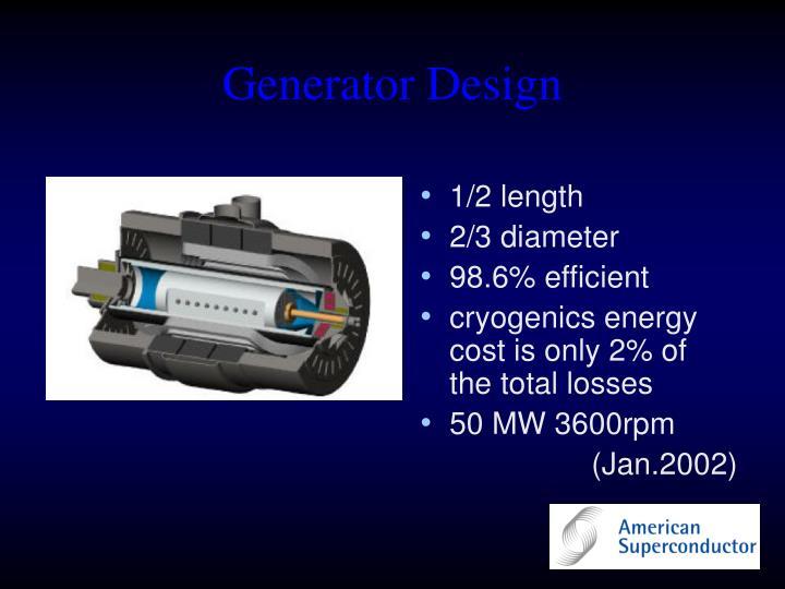 Generator Design