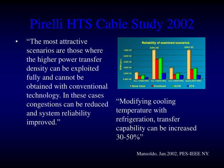 Pirelli HTS Cable Study 2002