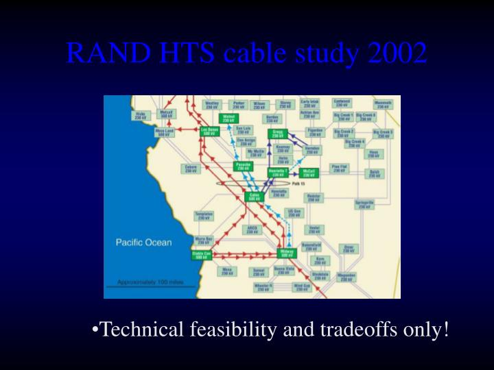 RAND HTS cable study 2002