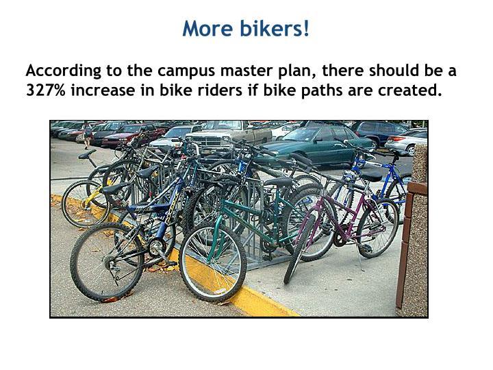 More bikers!
