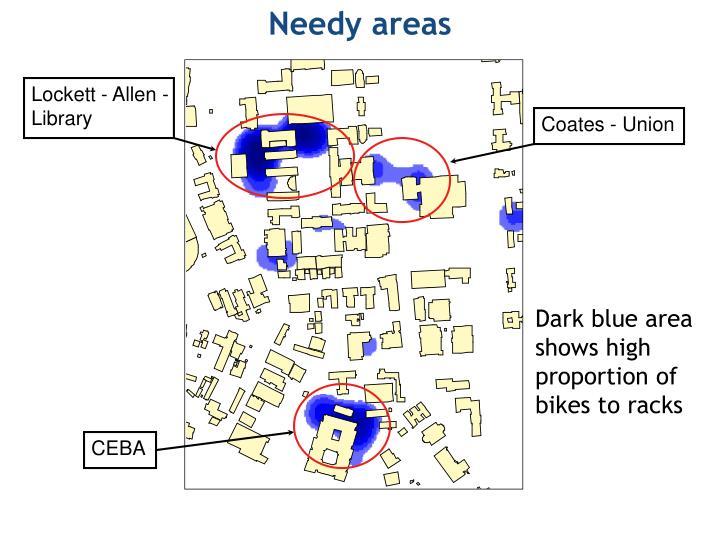 Needy areas