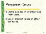 management issues1