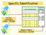 specific identification5