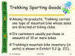 trekking sporting goods