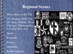regional scenes