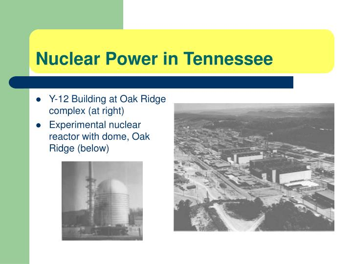 Nuclear Power in Tennessee