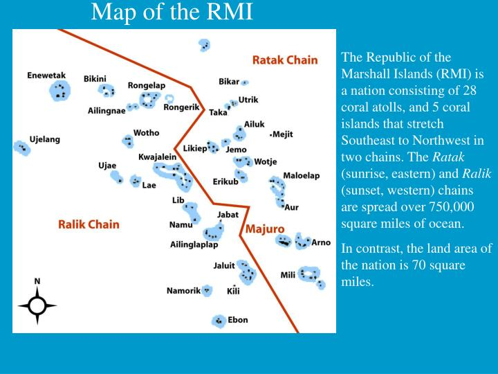 Map of the RMI
