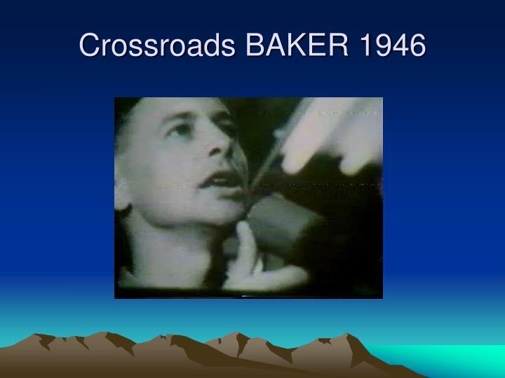 Crossroads BAKER 1946