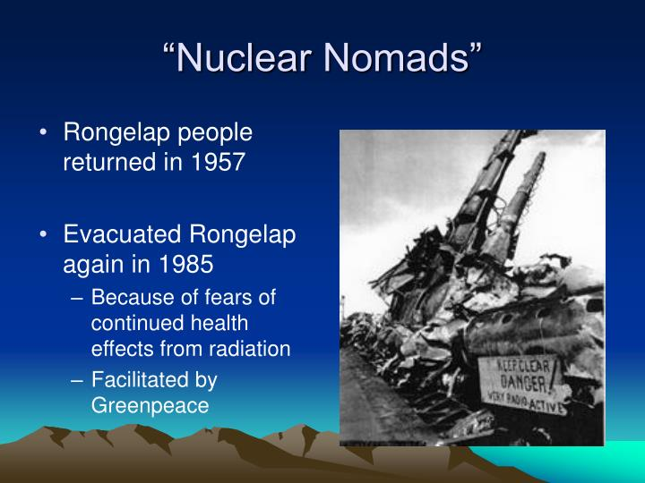 """Nuclear Nomads"""
