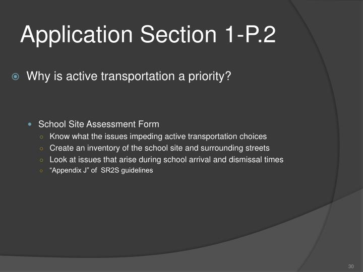 Application Section 1-P.2