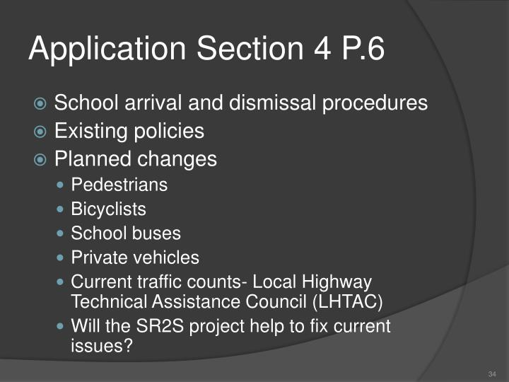 Application Section 4 P.6