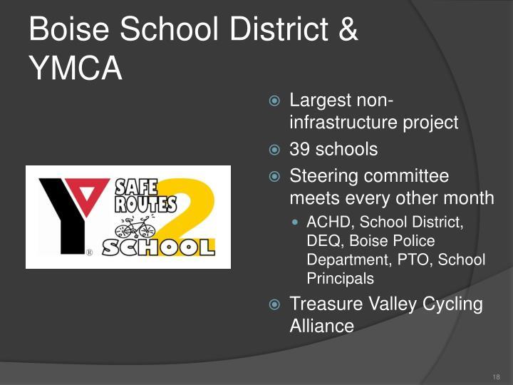 Boise School District & YMCA