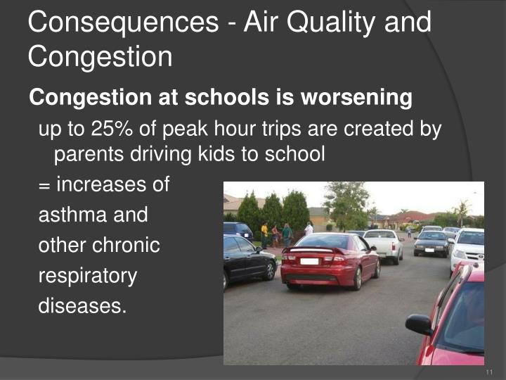 Consequences - Air Quality and Congestion