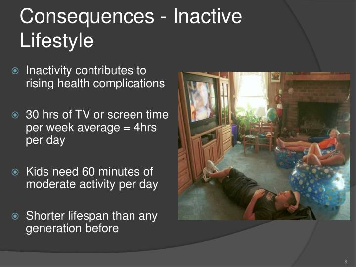 Consequences - Inactive Lifestyle