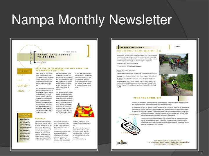 Nampa Monthly