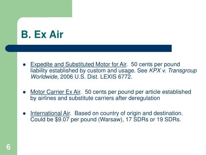 B. Ex Air