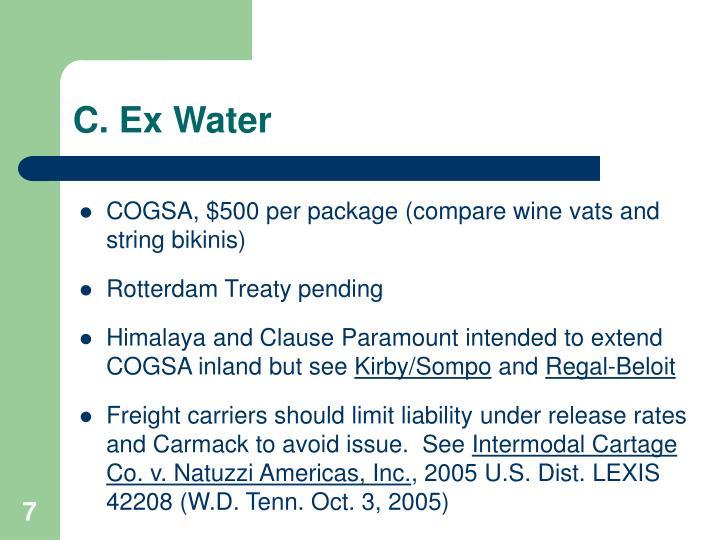 C. Ex Water