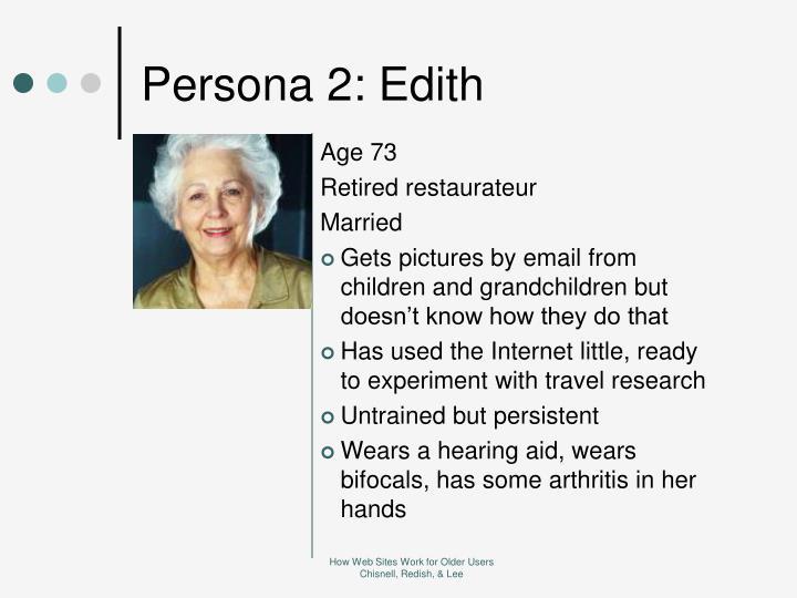 Persona 2: Edith